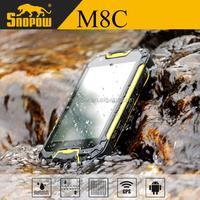 Snopow M8C IP68 waterproof 4.5 inches dual core 1G ram 8G rom 3g smart watch phone android waterproof ip67