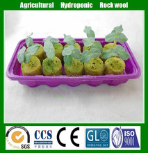hydroponics rock wool cubes for farm planting, soilless culture rock wool for flowers and vegetables growing