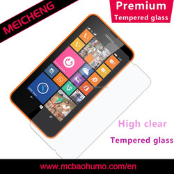 anti explosion curved tempered glass screen protector 4.5 for cell phone