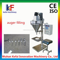 KF automatic sustainless steel filling machine powder food applied in cosmetic and food products