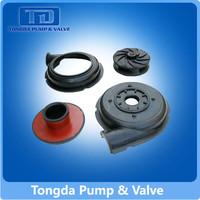 rubber pump casing, rubber volute liner for pumps
