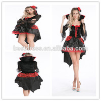 Instyles halloween costumes for women adult Queen Of The Vampires cosplay gothic dress 8543