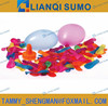 water balloon with plastic quick-fill loader