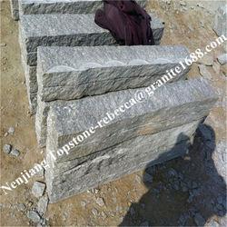 Cheap kerbstone granite floor tiles travertine tumbled pavers
