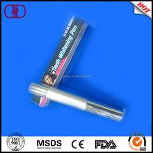 ON SALES white smile 44% peroxide 4.5ml silver teeth whitening pen
