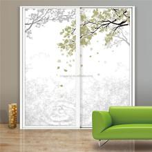 Painted Glass Wardrobe Sliding Door