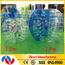 2015 great human inflatable bumper bubble ball/inflatable loopy balls