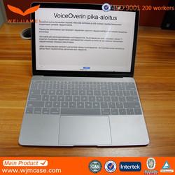 laptop wireless keyborad,bluetooth keyboard silicone case for macbook