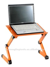 aluminum alloy hot selling laptop table portable bed