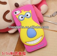 China manufacturer best quality bear style soft pvc cell phone case