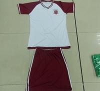 140gsm Weight 100% Polyester, Moisture-wicking Fabric Soccer Jerseys