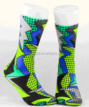 3D digital print non woven disposable socks taobao cheap China socks with good quality