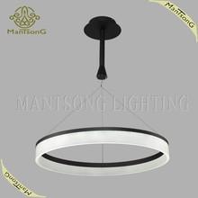 2015 Hot sale one ring residential modern acrylic led pendant light