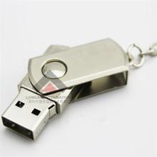 2GB 4GB 8GB Swivel Metal USB Flash Drive