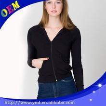 plain black thick zipped hoodie jackets wholesale