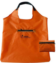 2015 Promotional 190T/210D Polyester Foldable eco shopping bag,