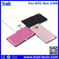 Soporte Case Para HTC One M8, Flip Cuero Estuche Case Para HTC One 2