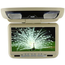 universal dvd headrest mount with dual Audio/Video input & output