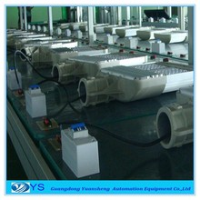 LED heavy lamp aging line testing machine fit for T5 and T8 LED tube lights high and low voltage testing line