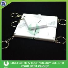 Custom Mini Promotional Message Recording Key Rings,Voice Talking Keyring,Logo Printed Sound Recording Keychain
