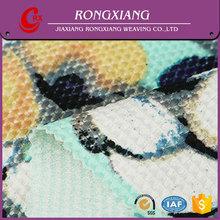 Fabrics supplier High quality Formal Polyester digital print knit fabric