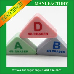 cheap gifts for children and triangle eraser for school