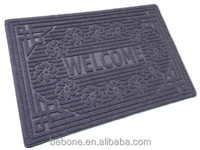 Anti-Slip plastic thin rubber door mat