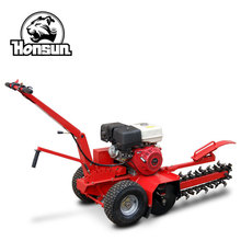 With CE certification high capacity efficiency trencher farm machinery