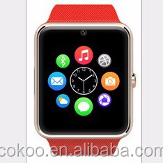 Cheap Bluetooth GT08 Smart Watch with 0.3MP camera support 2G GSM SIM card