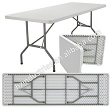 Cheap plastic table plastic outdoor table folding plastic table