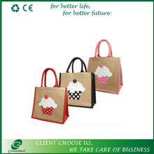 Eco-friendly shopping promotional jute bags