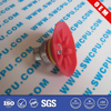 Customized colored rubber components with best price
