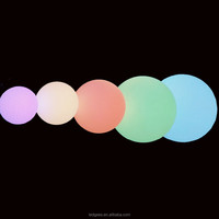 LED beach ball led glow swimming pool ball Decoration Led Glow Ball With Led Light