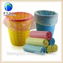de color bolsas de basura en diferentes tamaños para el embalaje de polvo