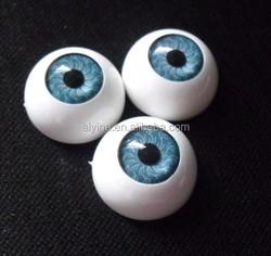 Brown plastic safety eyes for 18 inch fashion dolls
