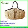Large Volume natural paper straw tote bag