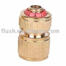 "Solid brass EU standard quick hose connector 1/2"" 5/8"" 3/4"" hose regular high quality quick-click snap fit connector"