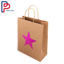 hot stamping laser cut paper bag