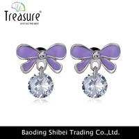 European Style Custom Earring Cards With Logo Mexican 925 Silver And Gemstone Jewelry ER01002