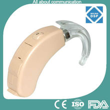 MDSP BTE digital hearing aids with gennum chip and two channels in China