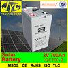 2 volt solar batteries, 700ah deep cycle solar battery for solar power systems