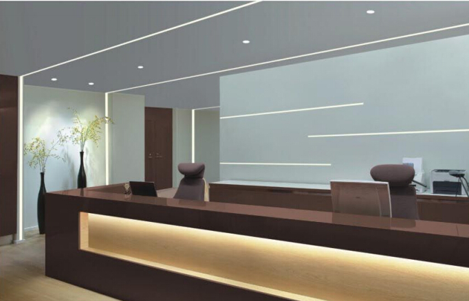 luz interior design escaleras planta lampara led tiendas shelf exposicin de arranque iluminacion led