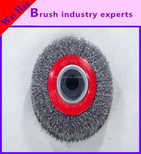 Products high quality and durable bowl shaped steel wire wheel, cleaning and polishing wheel wire brush,