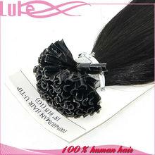 New Style Top Grade 100% Human Hair Extension, Wholesale Human U-Tip Rebound Hair