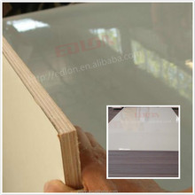 white gloss melamine /formica plywood board , bathroom accessories
