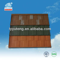 Colorful light weight spanish tile roof