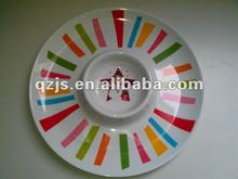 melamine plate own design for x'mas