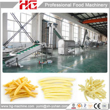 HG best machinery french fry potato chips whole line