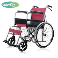 Health Care Supplies wheelchair folding new wheelchair design light and portable, solid free inflatable tires wheelchair