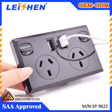 SAA 240v wall powerpoint socket electrical switch socket with usb port for australia